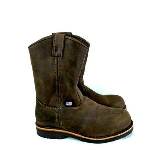 Chippewa 20076 Men 7 EE Boot Brown Steel Toe ofc85
